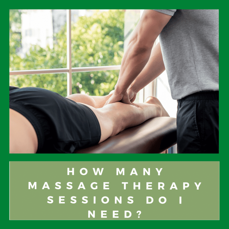 How Many Massage Therapy Sessions Do I Need