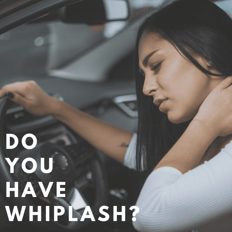 Do You Have Whiplash
