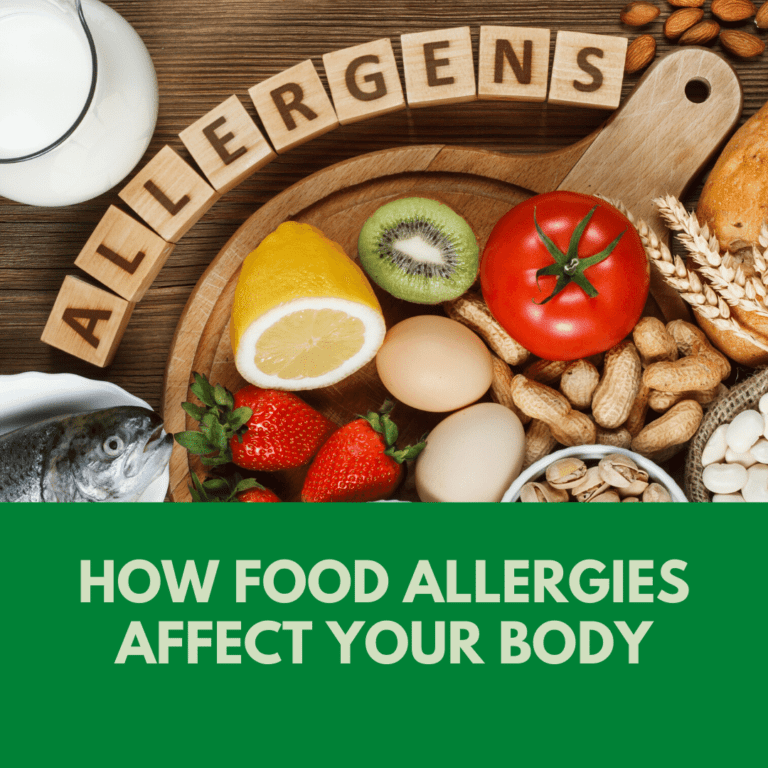 How food allergies affect Your Body