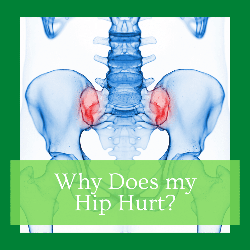 why does my hip hurt