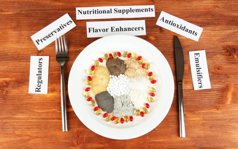Plate of Food Additives